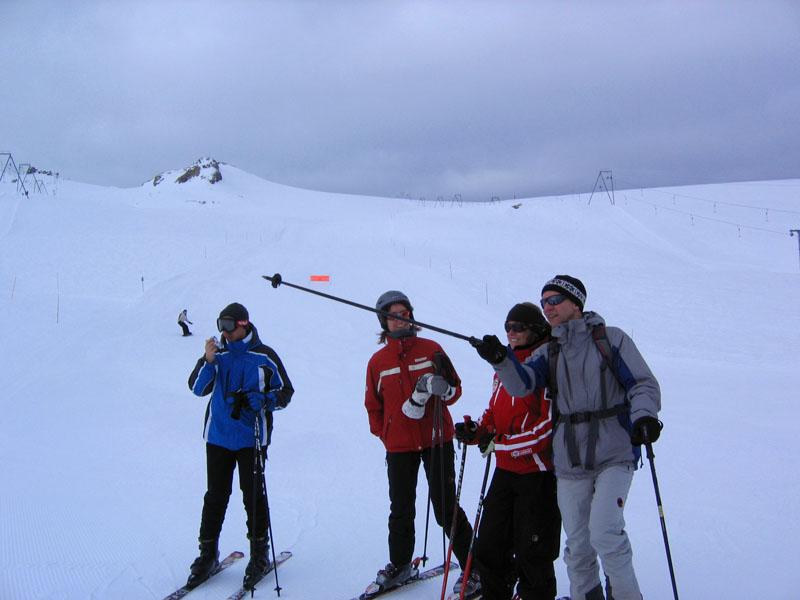 Хмурое утро на Glacier 3000 / Фото из Швейцарии