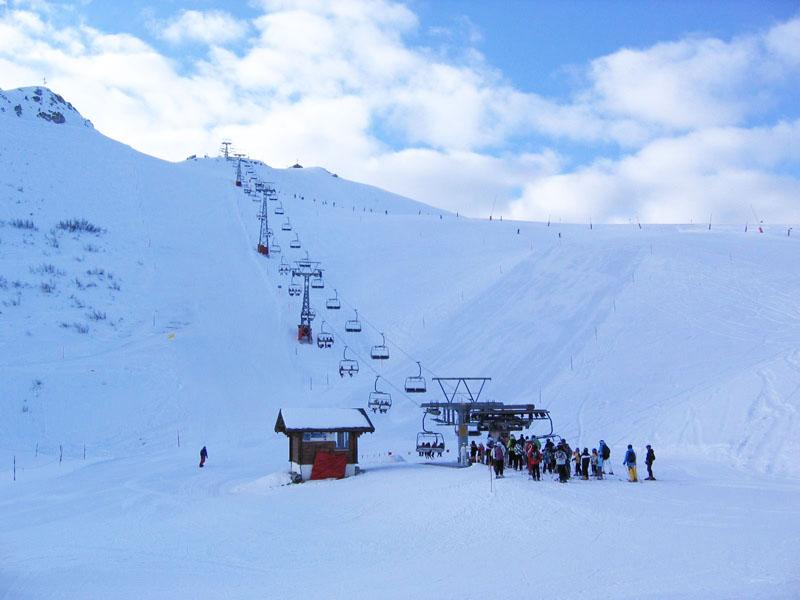 "Нижняя станция ""креселки"" на Жетейон / Фото из Швейцарии"