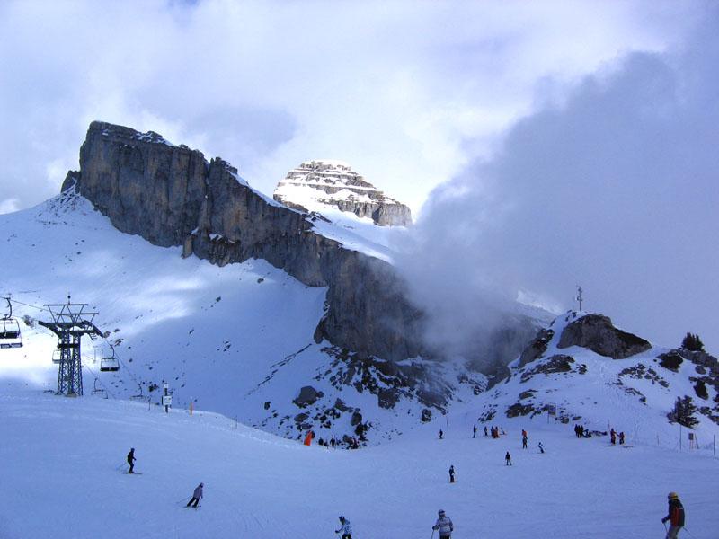 Верхний склон Лезена / Фото из Швейцарии