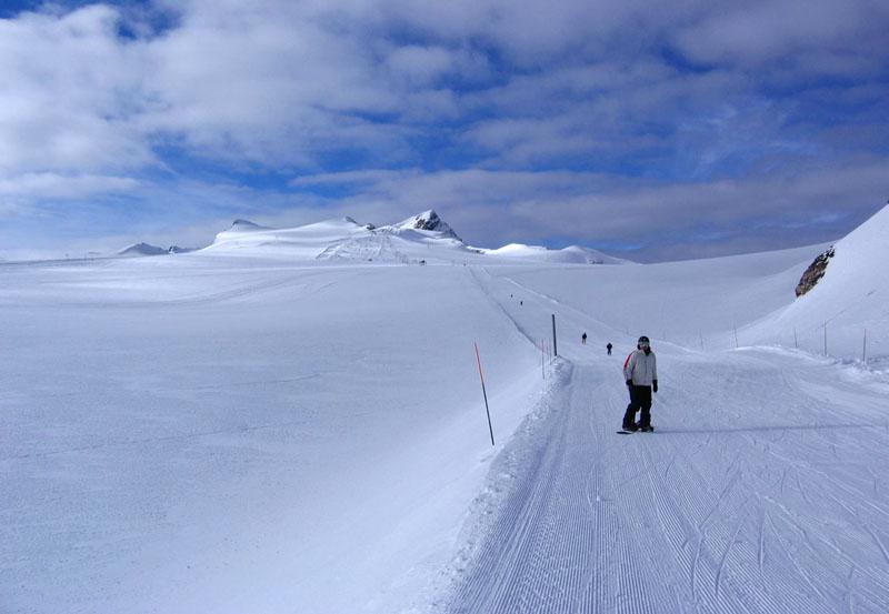 Вид на трассы Дьяблере с перевала Тсанфлёрон / Фото из Швейцарии
