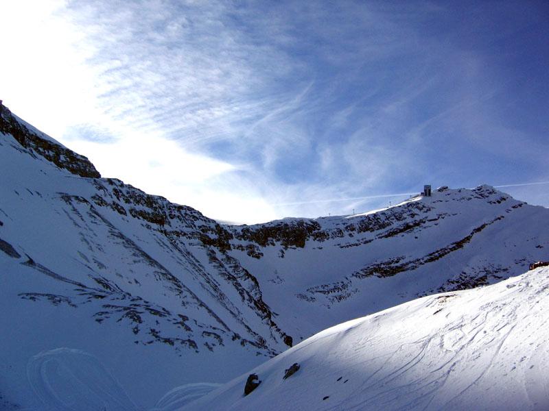 Вид с канатки Ольденальп - Пьер-Пуант / Фото из Швейцарии