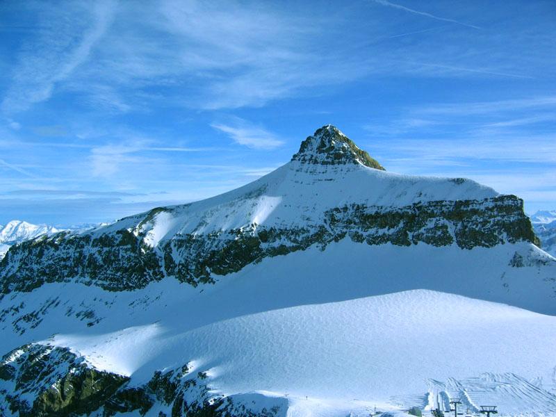 Пик Ольденхорн / Фото из Швейцарии