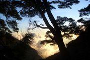 Горный закат / Тайвань