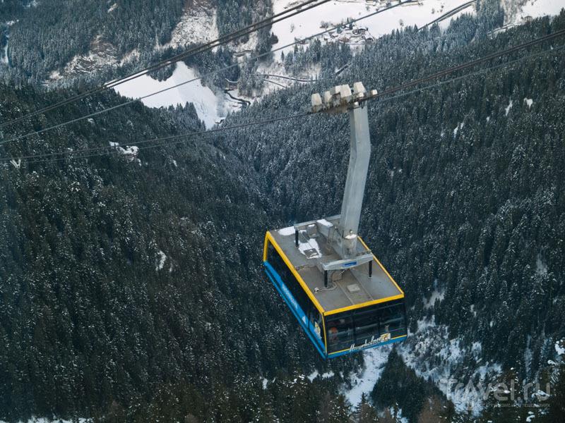 Телекабина Ahorn-Seilbahn / Фото из Австрии