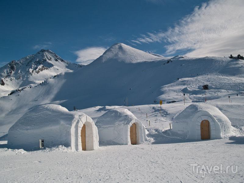 Иглу-отели в White Lounge, Ahorn / Фото из Австрии