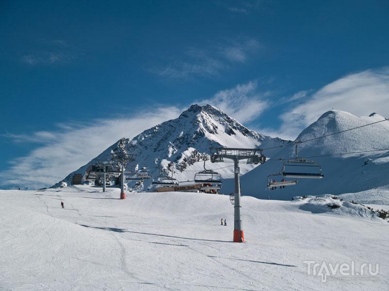 """""""Синяя"""" зона на горе Ахорн / Фото из Австрии"""