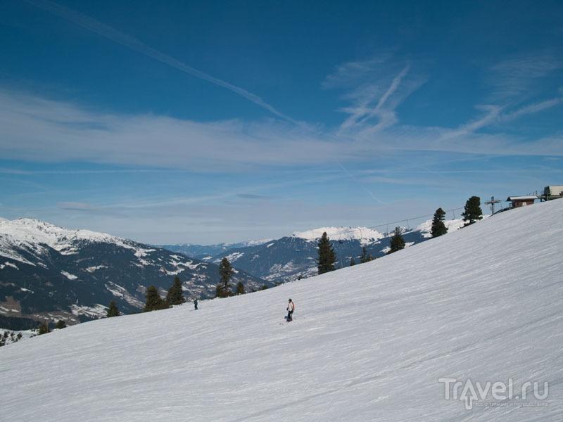 """""""Синий"""" склон горы Ахорн / Фото из Австрии"""