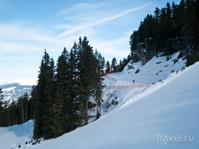 """""""Красный"""" склон горы Ахорн / Фото из Австрии"""