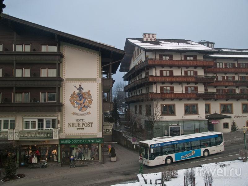 Бесплатный skibus в Майрхофене / Фото из Австрии