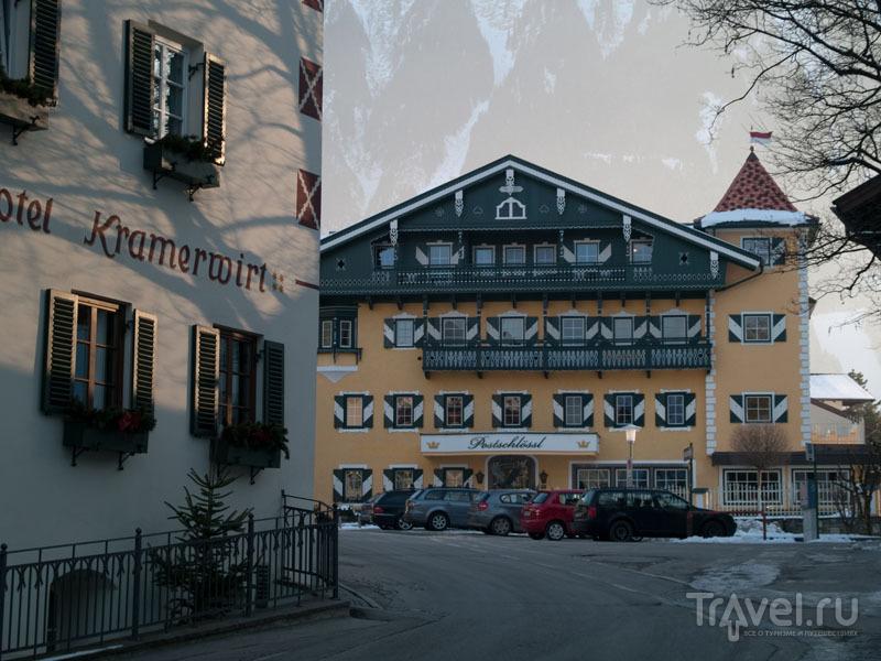 Закат в Майрхофене / Фото из Австрии