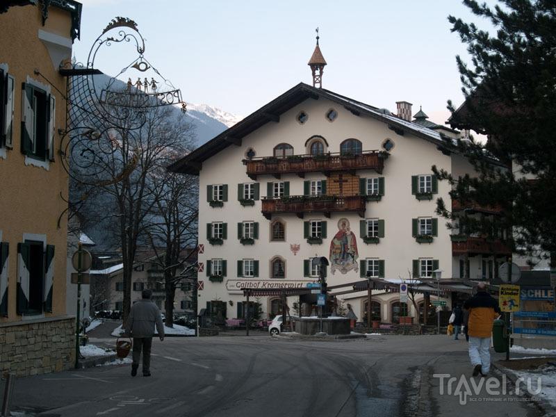 На центральной улице Майрхофена / Фото из Австрии