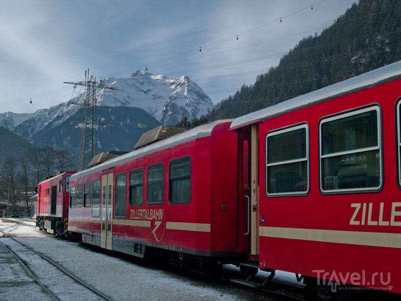 Циллертальский поезд Zillertalbahn  / Фото из Австрии