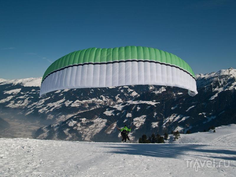 Стартовая площадка для парапланеристов / Фото из Австрии