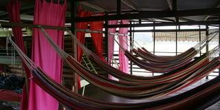 Гамаки на тур-базе / Суринам