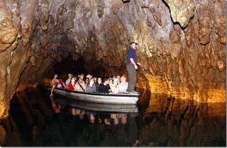 Тур в пещеры / Новая Зеландия