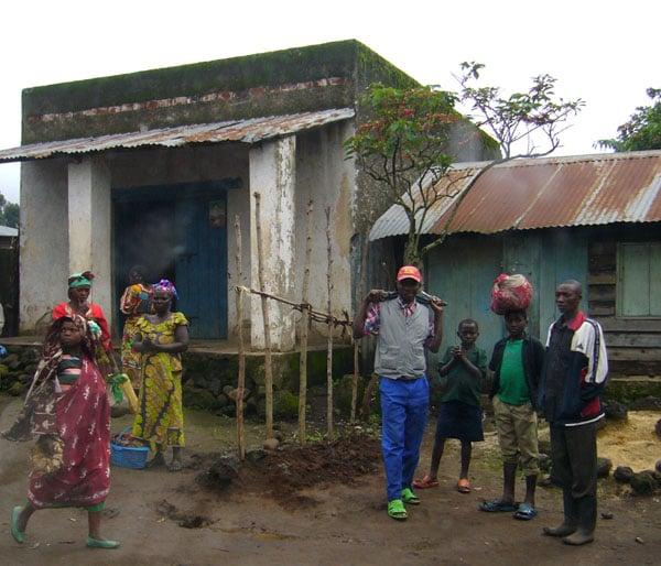 Местные жители Конго / Фото из Конго (бывш. Заир)