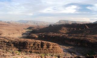 Начало каньона