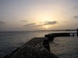 Закат с террасы Папайи / Кабо-Верде