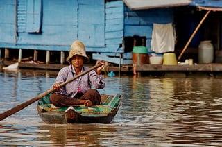 Способ гребли / Камбоджа