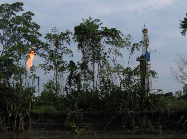 Добыча нефти в Эквадоре / Фото из Эквадора