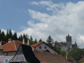 Вверх к дворцу Пелеш / Болгария