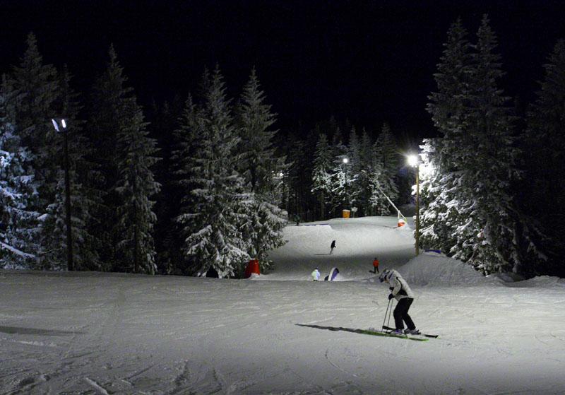 Зимний парк Tryvann, Осло, Норвегия / Фото из Норвегии