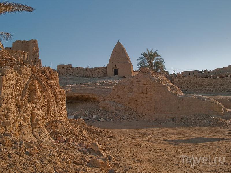 Следы древности в Бавити / Фото из Египта