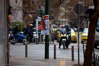 Толпы такси / Греция