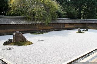 Самый известный японский сад камней / Япония