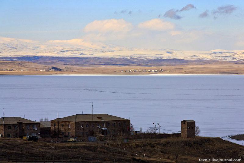 Ахурянское водохранилище / Фото из Армении