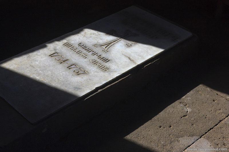 Могила Авраама III у церкви Святой Шогакат, Вагаршапат / Фото из Армении