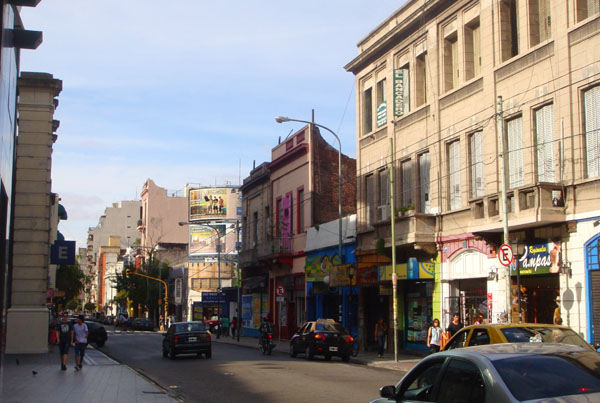 Проспект Корриентес в Буэнос-Айресе / Фото из Аргентины