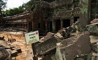 Стены укрепляют / Камбоджа