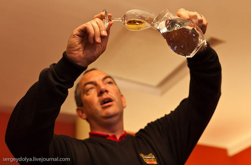 Дегустация виски / Фото из Ирландии