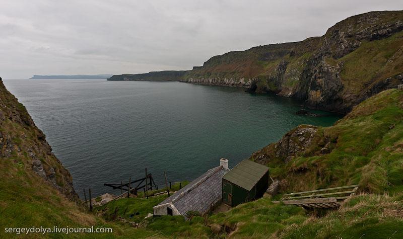 Старая хижина на острове, Ирландия / Фото из Ирландии