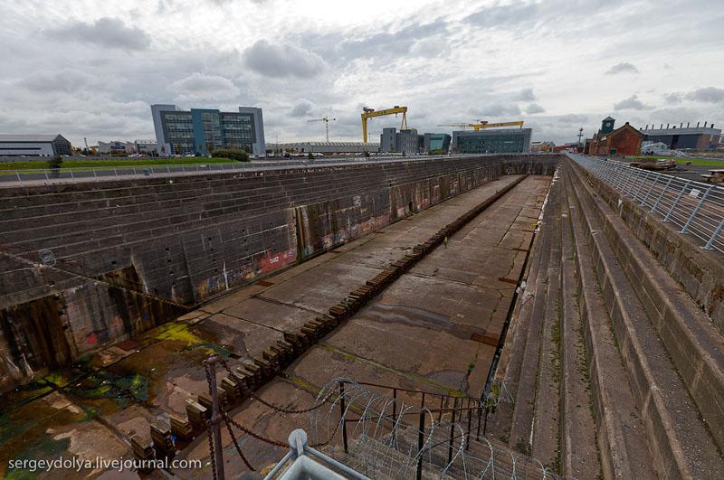 """Верфь, где строился """"Титаник"""", Белфаст / Фото из Ирландии"""