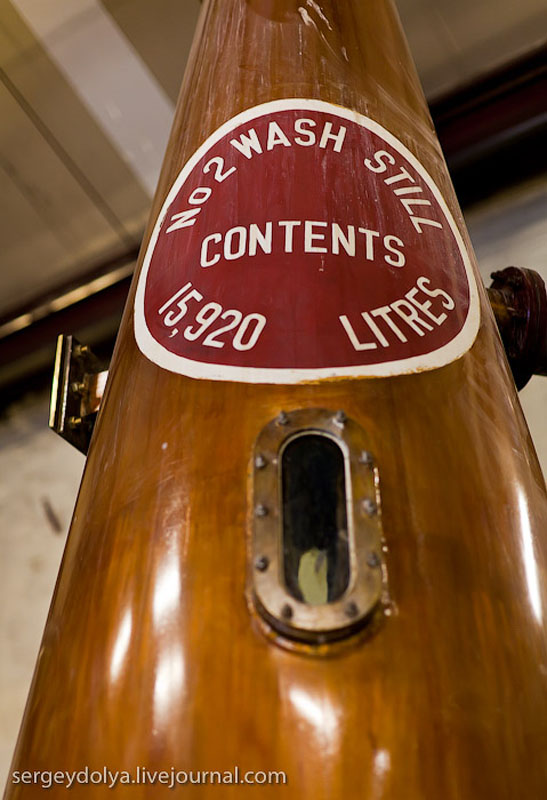 Перегонка виски на вискокурне Bushmills, Ирландия / Фото из Ирландии