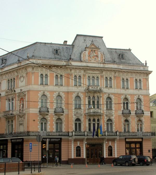 Отель George во Львове / Фото с Украины