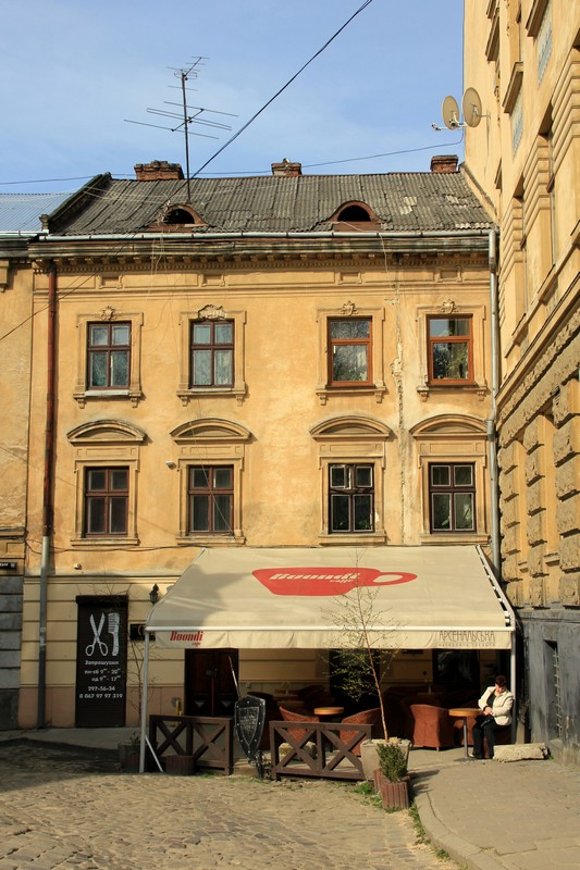 Одна из кофеен Львова / Фото с Украины