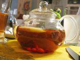 Чай со свежими фруктами / Украина