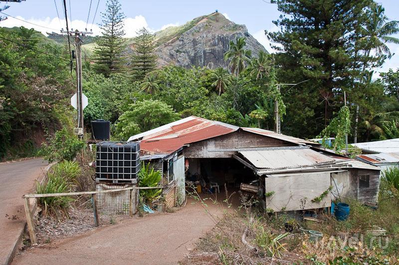 Наш дом на острове Питкэрн / Фото с Питкэрна