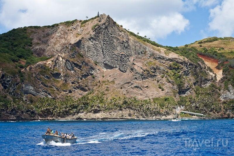 Самый популярный вид острова Питкэрн / Фото с Питкэрна