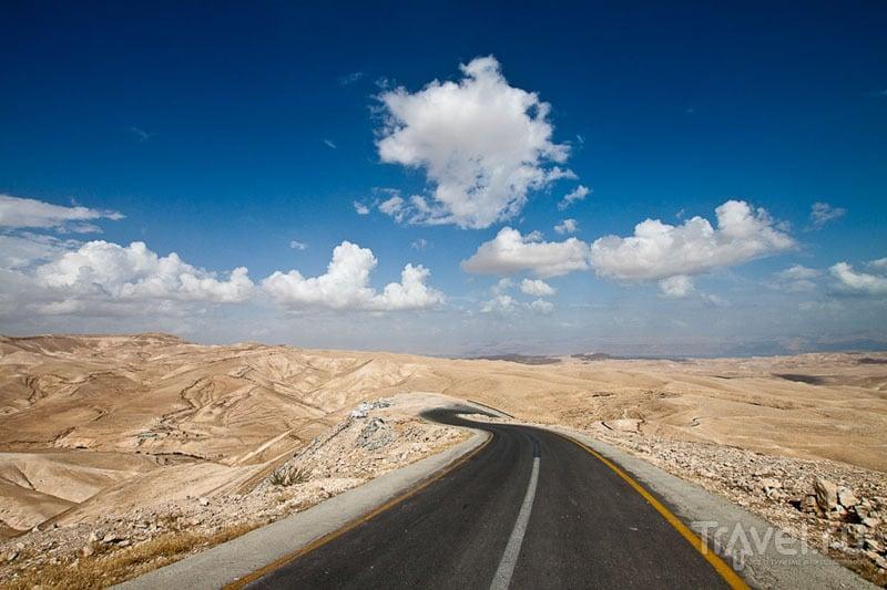 Палестинская пустыня / Фото из Палестины