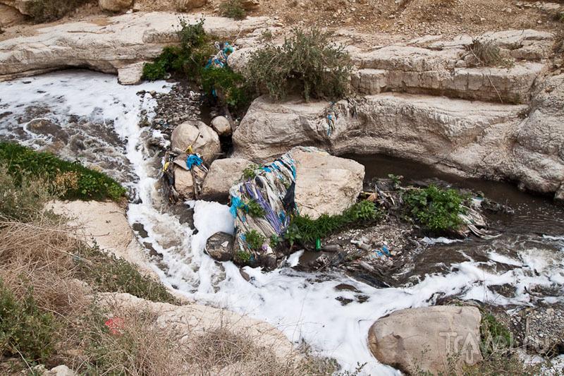 Река Кедрон в Палестине / Фото из Палестины