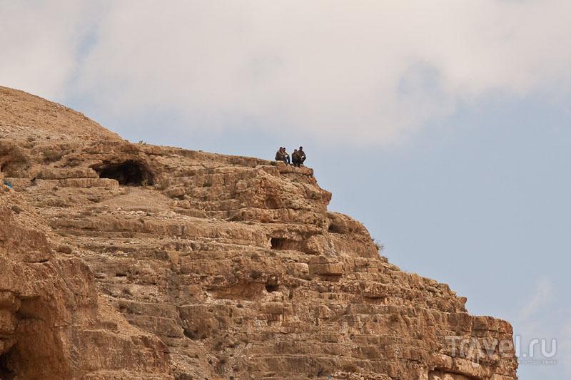 Гора в окрестностях монастыря Мар-Саба / Фото из Палестины