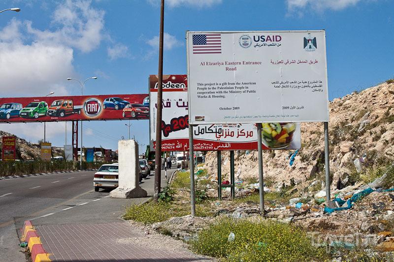 На границе палестинских территорий / Фото из Палестины