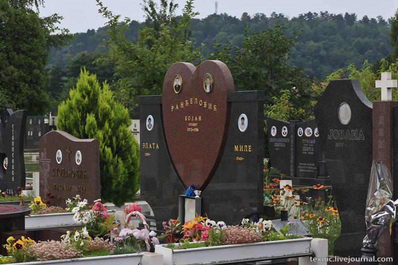 На кладбище в Заечаре, Сербия / Фото из Сербии
