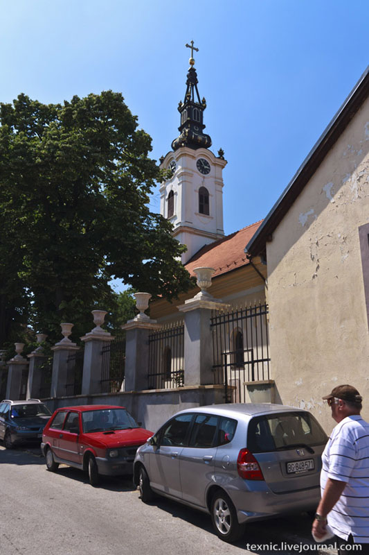 На улице Земуна / Фото из Сербии