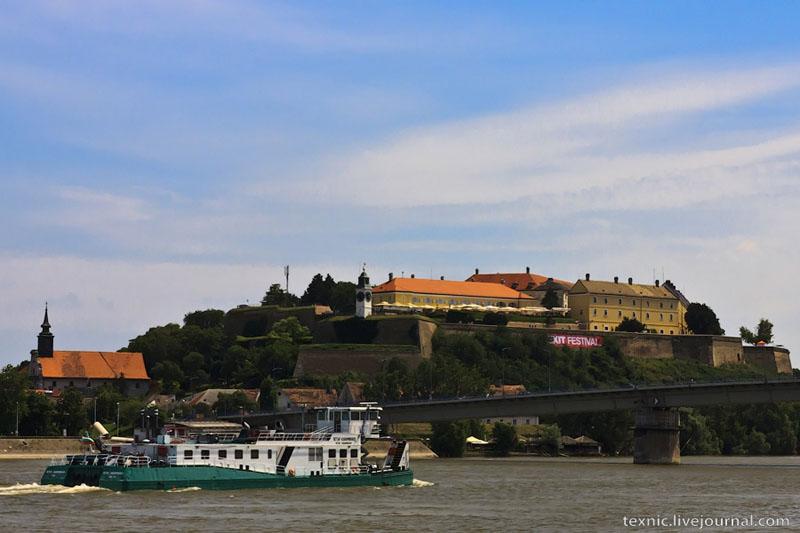 Крепость Петроварадин в Нови-Саде, Сербия / Фото из Сербии