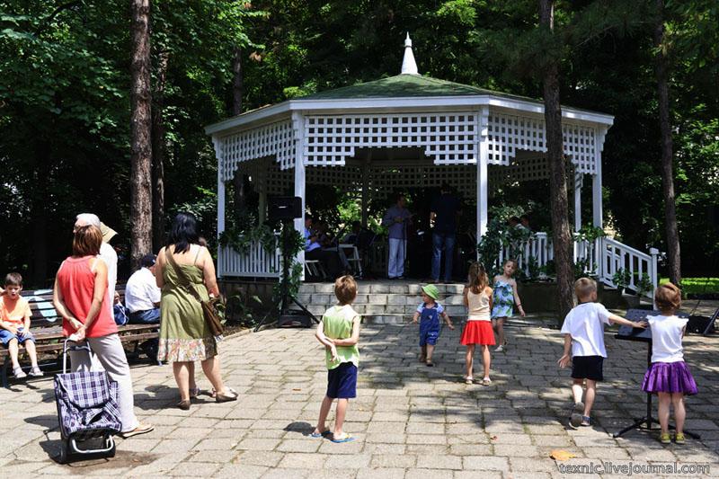В парке города Нови-Сад, Сербия / Фото из Сербии